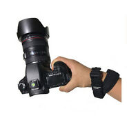 US Neoprene Adjustable Wrist Strap Camera Hand Grip Bracelet for All SLR& DSLR
