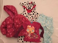 Bundle Girls Coat Dressing Gown Top Trousers 9-12 Month Disney Butterfly Waybulo