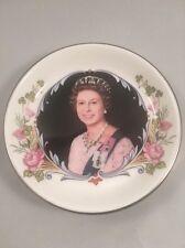 Crown Staffordshire Queen Elizabeth II Silver Jubilee 1977 Pin Trinket Dish