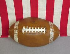Vintage 1960s MacGregor Official Leather Football with Laces Model Great Ball