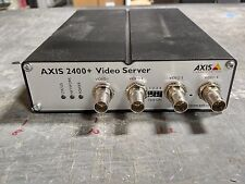 AXIS 2400+ 4-Channel Video Server CCTV IP Network Encoder - Free Shipping