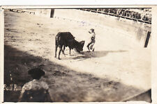 RP : Bull Fight , MATAMOROS , Tamps. Mexico PU-1936
