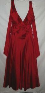 Women's Nicole Miller New York Sleeveless Tie Neck Party/Cocktail Dress Size 10