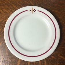 """Vintage ARMY SIGNAL CORPS 6 1/4"""" Lunch Plate Sterling China Restaurant Ware"""