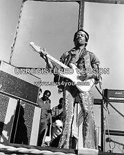 "Jimi Hendrix 10"" x 8"" Photograph no 24"