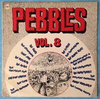 VARIOUS ARTISTS ~ PEBBLES VOL.8 ~ 1980 US 18-TRACK VINYL LP RECORD ~ BFD 5025