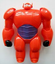LARGE BIG HERO 6 SIX ARMOURED BAYMAX RED ARMOUR ROBOT PLASTIC TOY BANDAI FIGURE