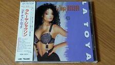 LA TOYA JACKSON s/t CD JAPAN 1ST PRESS Michael Janet 25P2-2292 w OBI s780