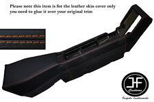 ORANGE STITCHING CENTER CONSOLE LEATHER SKIN COVER FITS RENAULT ALPINE GTA V6