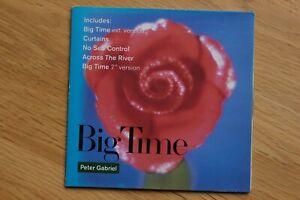 PETER GABRIEL - Big Time CD Single UK 1987 VIRGIN GAIL3 12