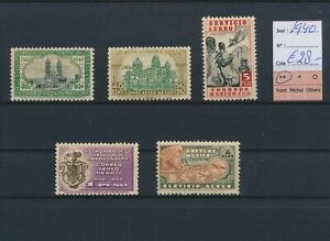 LO44952 Mexico 1940 airmail stamps fine lot MNH cv 28 EUR