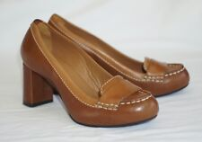 Cole Haan Nike Air Marion Moc Pump Leather Comfort Heels Shoes Women's 6B D35137