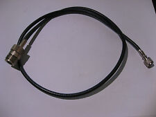 Coaxial Patch Cable RG-58/U Mini-UHF to N-Female 25