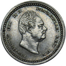 More details for 1832 maundy twopence - william iv british silver coin - very nice