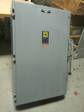 * Square D Fusible Safety Switch Cat# H365N ... 400A, 3P, 600V .. DS-257