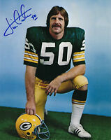 PACKERS Jim Carter signed 8x10 photo w/ #50 AUTO Autographed Green Bay LB 1970's