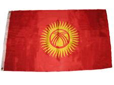 3x5 Kyrgyzstan Flag 3'x5' Banner Grommets premium banner fade resistant