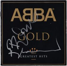 ABBA Gold BJORN ULVAEUS BENNY ANDERSSON Dancing Queen Mamma Mia Autograph SIGNED