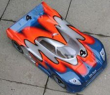 1/8 Jaguar XRS Speed Run RC Car GT Body clear2mm GTP2 traxxas Slash 0118/2