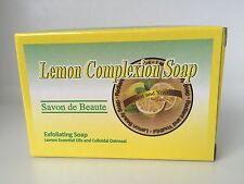 Savon De Beaute Lemon Complexion Exfoliating Soap With Lemon Essential Oils 125g