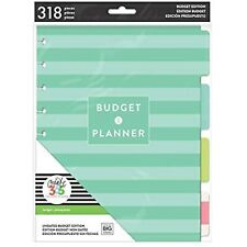me & my BIG ideas Budget Extension Pack - The Happy Planner Scrapbooking