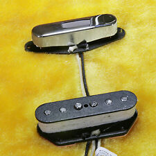 Lindy Fralin Custom Tele Blues Special Pickup Set Chrome Cover and 2% Over Neck