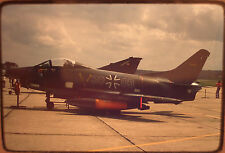 1 x gerahmtes original Farb Dia Slide Air craft, F 104-G, Jet, Bundeswehr 30+03