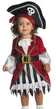 Pirate Princess Costume Childs Girls Puny Punk - Infant Toddler 12-18 Months