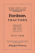 FORDSON Tractor Parts & Assembly Manual 1917-1945
