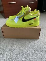 """Off-White x Nike Air Force 1 low volt """"Size 13"""" """"Worn Once"""""""