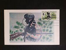 USA MK 1967 DAVY CROCKETT TRAPPER MAXIMUMKARTE CARTE MAXIMUM CARD MC CM c8133