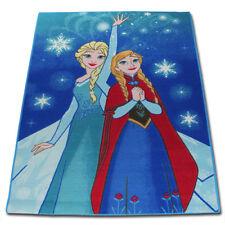 B-ware Disney Eiskönigin Elsa Kinderteppich Kinder Teppich Spielteppich 133x95cm