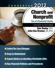 Zondervan 2012 Church and Nonprofit Tax and Financial Guide: For 2011 Tax Return