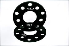 3MM LAMBORGHINI WHEEL SPACERS 5X112+ CB 57.1 BLACK ANODIZED