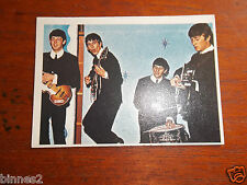 THE BEATLES DIARY TOPPS T.C.G. GUM TRADING CARD COLOUR / COLOR 1965 CARD NO.2A