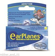 Cirrus Healthcare EarPlanes Adult Earplugs - 1 Pair (FREE UK P&P)