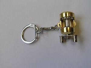 Cool-Key Chain Baitcast Reel Miniature Novelty Gift Charm