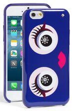 NEW Kate Spade Jeweled Monster Eyes Hybrid Hardshell Case iPhone 8/7/7s in Blue