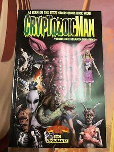 Cryptozoic Man Vol 1 TPB Signed Sketch Walt Flanagan Ming Chen Dynamite AMC