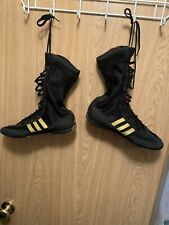 Adidas Champ Speed Ii Boxing Boots Size 11 Rare Wrestling Pre Owned