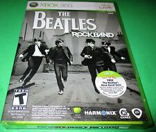 Beatles: Rock Band Microsoft Xbox 360 *Factory Sealed! *Free Shipping!