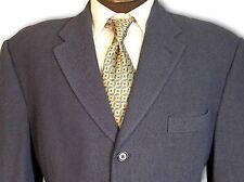$1295 Jhane Barnes 3 Button Italian Wool Slate Blue Sport Coat size 43R C103