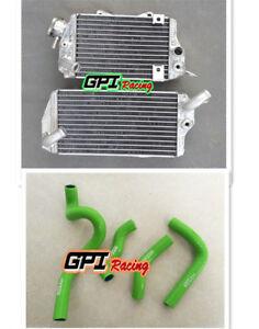 FOR 1993-1996 Kawasaki KLX650 KLX 650 1994 1995 Aluminum radiator and hose