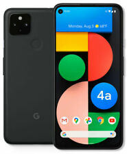 Google Pixel 4a 5G - 128GB - Just Black Fully Unlocked (Any Carrier)  Good