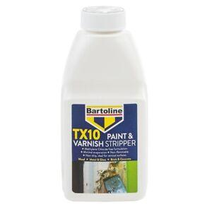 Bartoline TX10 Non-Drip Paint and Varnish Stripper - 500ml, 1L, 2.5L