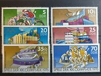 German DDR - 1976 - Olympic Games, Montreal - 6 stamp set -  MNH