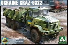 CAMION UKRAINIEN KrAZ-6322 - KIT TAKOM INTERNATIONAL 1/35 n° 2022