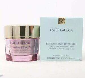 Estee Lauder Resilience Multi-Effect Night Tri-Peptide Face&Neck Creme NIB 2.5oz