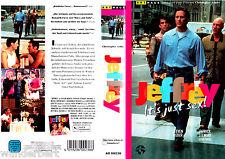 "VHS - "" JEFFREY - It`s ust Sex "" (1995) - Steven Weber - Patrick Stewart"
