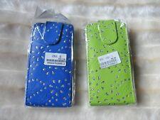 Flip Case Etui Handytasche Tasche hülle F. HTC One s (schwarz)